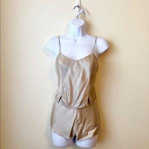 EUC - Victoria's Secret - Silk Pajama Set - XS